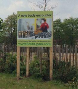 futura park sign